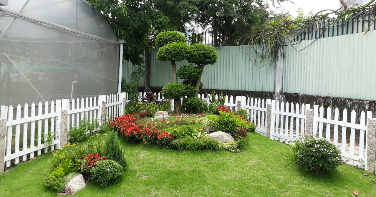 Thi công sân vườn đẹp giá rẻ