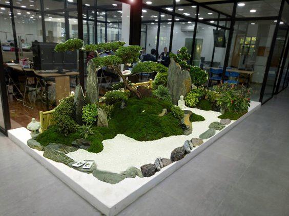 Thiết kế sân vườn phong cách Nhật