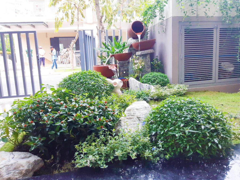 thi công sân vườn Palm City