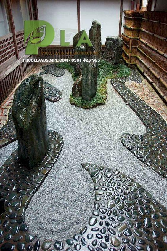 vườn nhật hiện đại