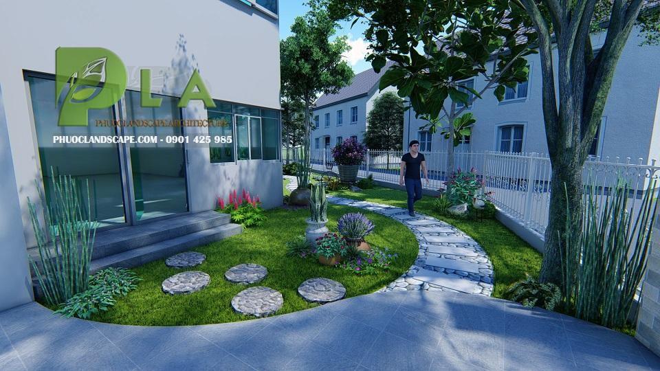 Thiết kế, thi công sân vườn hồ cá koi đẹp